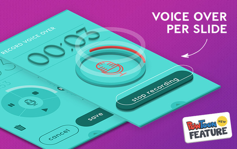 Voiceover Per Slide in PowToon | Digital Presentations in Education | Scoop.it