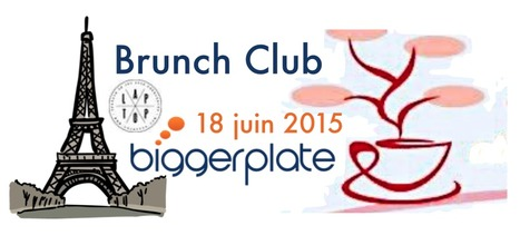 1er Brunch Café Biggerplate à Paris | Mind Mapping au quotidien | Scoop.it