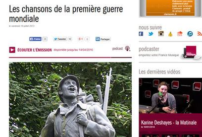 La Grande Guerre... sur le web - Paris.fr | Centenaire de la Première Guerre Mondiale | Scoop.it