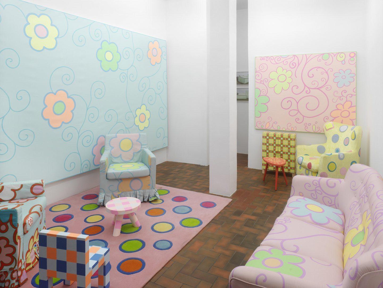 Lily Van Der Stokker Living Room Wohnzimmer At
