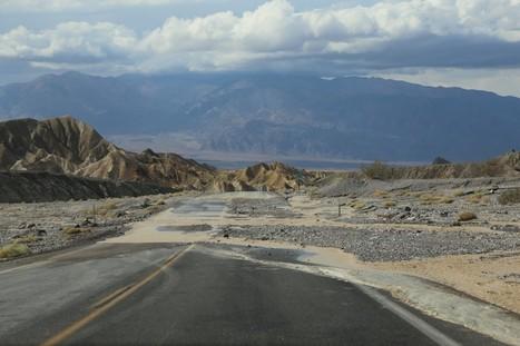 Quand il pleut à la Vallée de la Mort | Lost In The USA | AmeriKat | Scoop.it