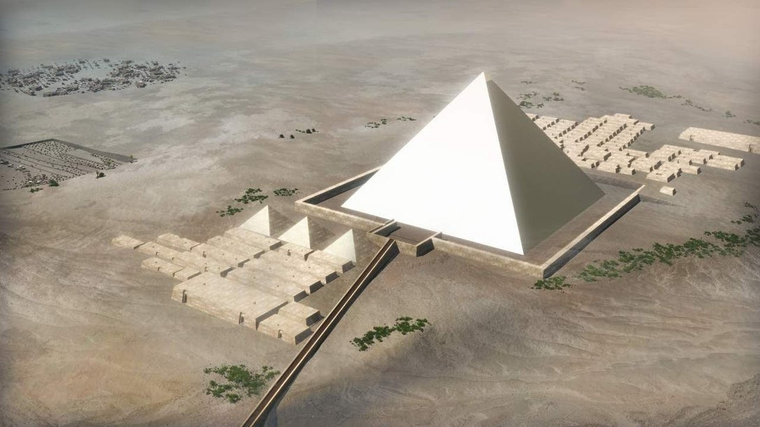 how dilation was used in the construction of the pyramids of egypt Egyptian pyramids: the earliest known egyptian pyramids are found at saqqara, northwest of memphis the earliest among these is the pyramid of djoser john romer suggests that they used the same method that had been used for earlier and later constructions, laying out parts of the plan.