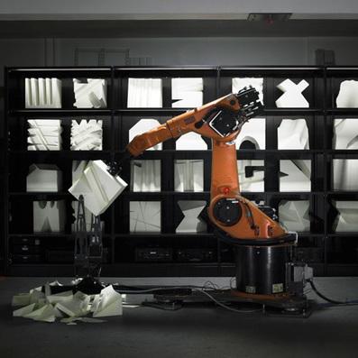 Robotic arms create custom furniture in Robochop installation   e-merging Knowledge   Scoop.it