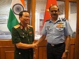 Défense : Vietnam et Inde approfondissent leur coopération - Vietnam+ | Mer de Chine | Scoop.it