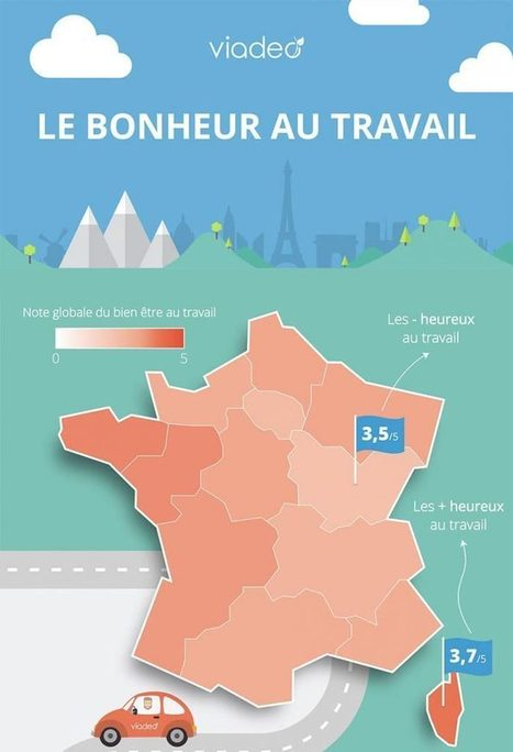 Bonheur au travail : le top par région | RH EMERAUDE | Scoop.it