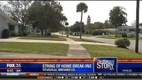 Titusville Police Investigate Home Break Ins