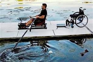 AP PHOTOS: Adaptive rowing opens sport to disabled - Turn to 10 | Indoor Rowing | Scoop.it