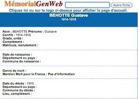 Histoires de Familles - Blog Généalogie: Les Poilus de Chailley dans l' Yonne   Auprès de nos Racines - Généalogie   Scoop.it