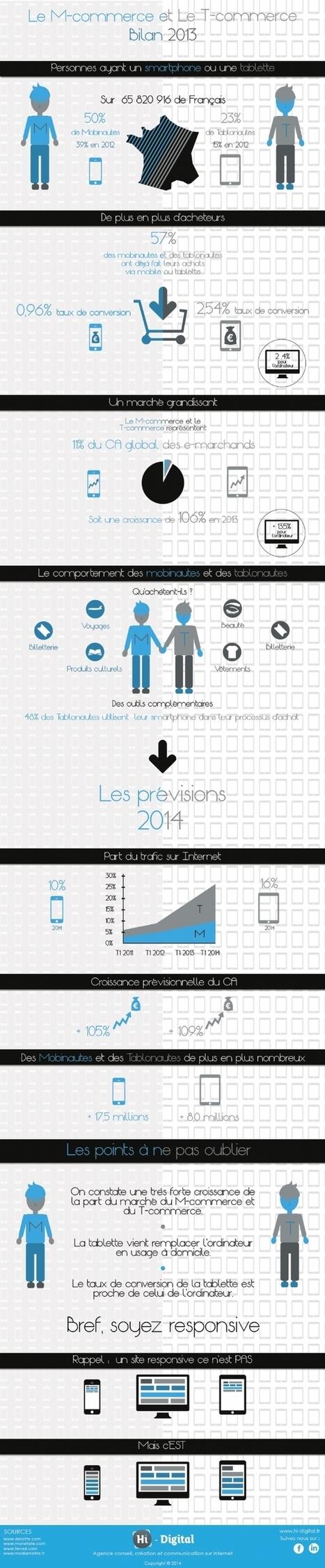 M-Commerce et T-Commerce : le bilan 2013 | Actualité de l'E-COMMERCE et du M-COMMERCE | Scoop.it