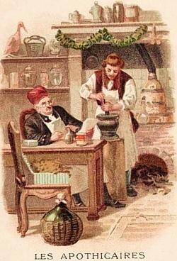 Procès retentissant intenté aux maîtres apothicaires en 1671 | GenealoNet | Scoop.it
