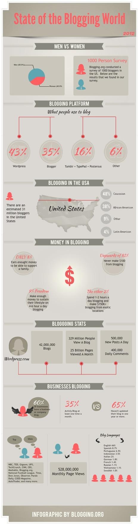 Blogging Stats 2012 | Curation-Corner | Scoop.it