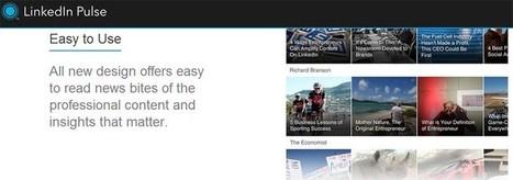 LinkedIn prepara importantes novedades para su lector de noticias Pulse | Educación electronica digital | Scoop.it