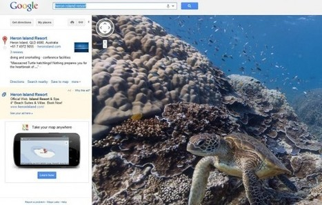 Google Maps comienza a mostrar imágenes submarinas | CEREGeo - Geomática | Scoop.it