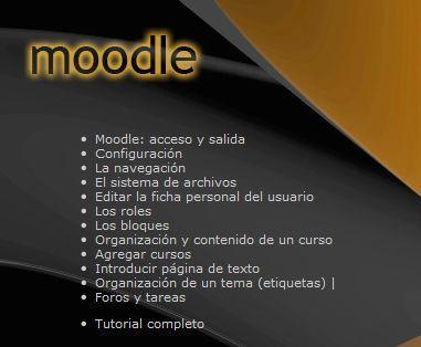 Moodle - Video tutoriales | Educacion, ecologia y TIC | Scoop.it