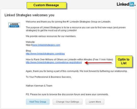 List Building Tip: Optimize Your LinkedIn Group | Tribe Builders | Scoop.it