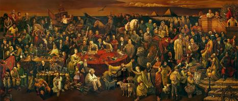 Famous People Painting with Wiki Links - Beautiful and truly amazing! Enjoy! | Nov@ | Scoop.it