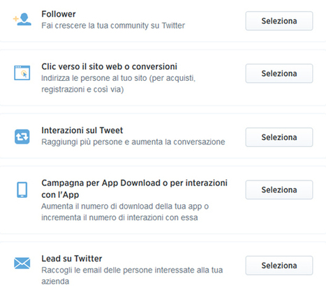 Twitter Ads: Twitter abilita le campagne pubblicitarie anche in Italia | Twitter addicted | Scoop.it