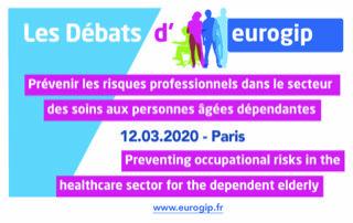 Il est temps de vous inscrire aux Débats d'EUROGIP du 12 mars 2020