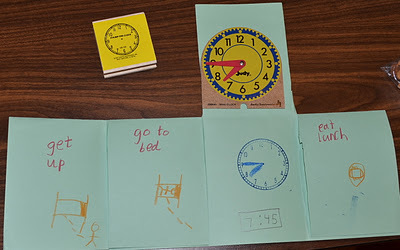 love2learn2day: Fun with Time...Books & Foldable | Hands on Math | Scoop.it