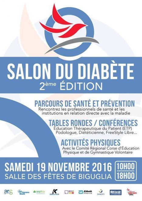 2e Edition du Salon du Diabète en Corse – JMD2016 – Les Diabétiques de Corse | ADC | Scoop.it