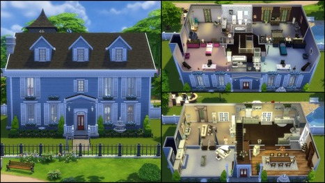 Maison In Les Sims Page 6 Scoop It