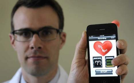 New iPhone app can detect atrial fibrillation | Heart and Vascular Health | Scoop.it