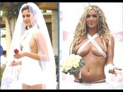 Most Revealing Wedding Dresses