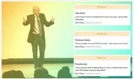 Acclaim- A Good Tool to Create Instructional Videos that Embed Comments and Annotations | Technology in Art And Education | Scoop.it