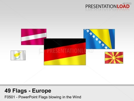 powerpoint maps & flags | scoop.it, Powerpoint templates