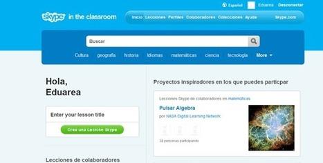 Cómo los Profesores Usan Skype en el Aula | Social Media | Scoop.it