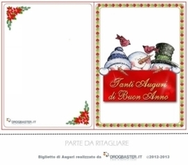 Biglietti Di Natale Da Stampare Gratis.Biglietti Di Natale Da Stampare Gratis Per Augu
