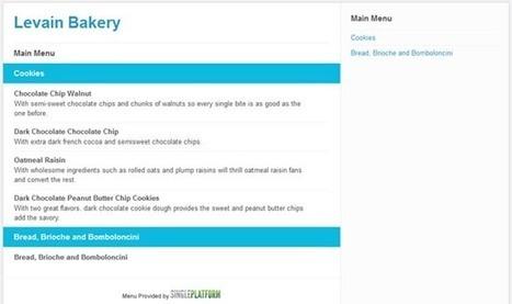 Retrouvez les menus de vos restaurants favoris sur foursquare | 4sqNews.com | AReo Vision | Scoop.it