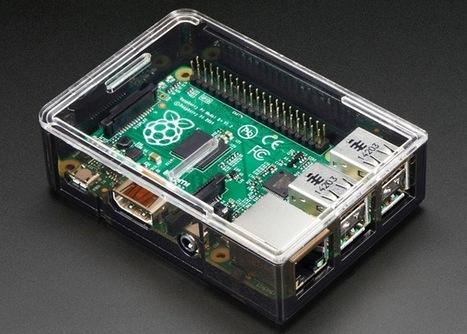 Adafruit Raspberry Pi B+ Case Unveiled - Geeky Gadgets | Fab(rication)Lab(oratories) | Scoop.it