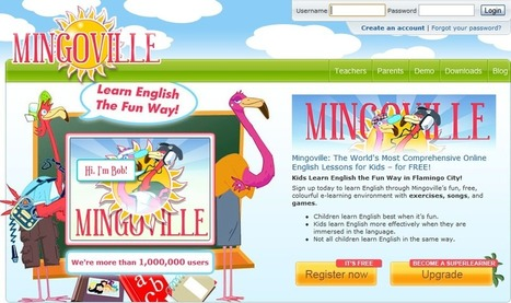 Mingoville.com - English for Kids. Approved by Teachers. | UDL & ICT in education | Scoop.it