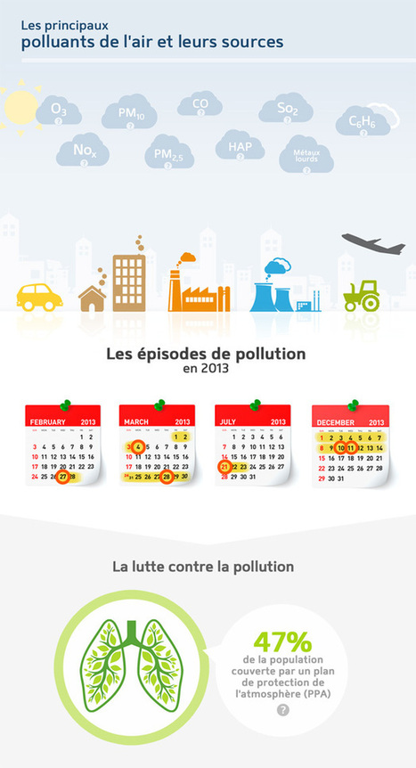 Pollution de l'air en France : où, quand, comment ? | Toxique, soyons vigilant ! | Scoop.it