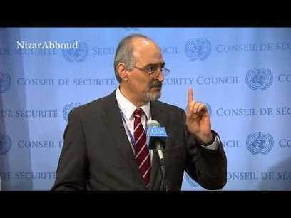 ▶ Syria Sensing Looming Military Attacks - Bashar Jaafari | Seif al Islam al Gaddafi | Scoop.it