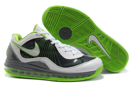 reputable site 5f01d c67d1 Nike Air Max 360 BB Low Basketball Shoes White Black Green,Cheap Jordans  For Sale. From www.goodcheapnike.com ...