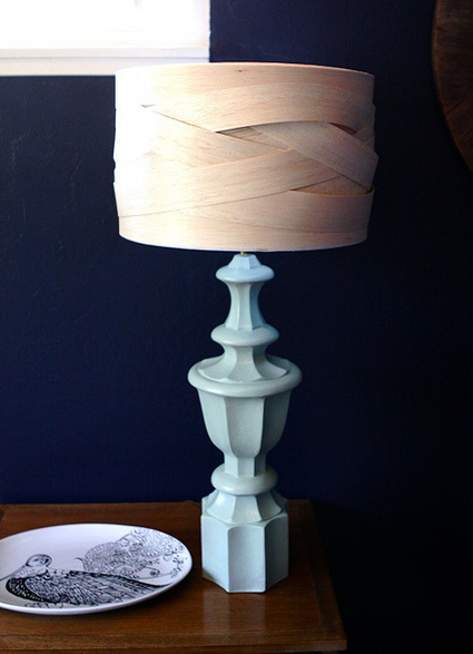 Como hacer pantallas para lamparas con madera ... - Manualidades | Qui no té feina el gat pentina | Scoop.it