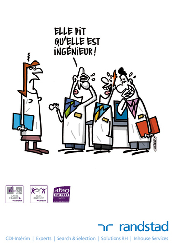 12 dessins humoristiques sur l'égalité professionnelle | L'égalité professionnelle | Scoop.it