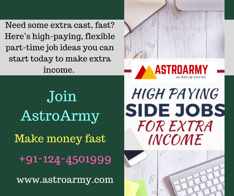 internet part time jobs from home in astrology scoop it