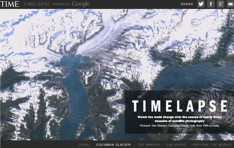"Watch an Interactive Time-Lapse of Earth's History From Space by Google, NASA and TIME | ""Environmental, Climate, Global warming, Oil, Trash, recycling, Green, Energy"" 