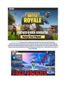 Fortnite Royale Battle Hack 2018v Bucks Generat