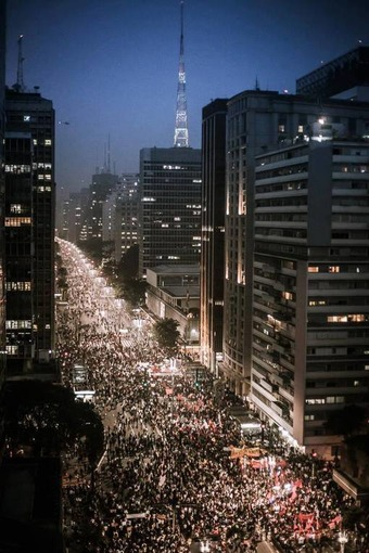 Brazil explodes in a furious feast of democracy | ROAR Magazine | real utopias | Scoop.it