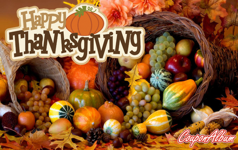 Have A Happy Thanksgiving! | Online Shopping Blog | Coupons & Deals | Scoop.it