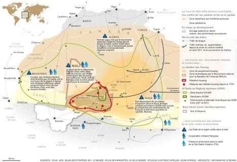 Le Mali, une zone difficilement contrôlable   Nuevas Geografías   Scoop.it