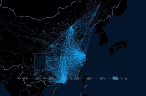 World's Largest Migration Tracked by Chinese Search Engine Baidu | SNA - Social Network Analysis ... and more. | Scoop.it