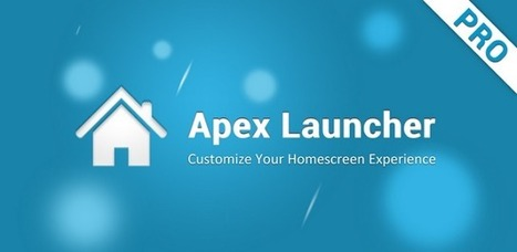 Apex Launcher Pro apk' in Android   Scoop it