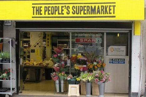 Bientot en France ? À Londres, le Supermarché des Gens fait la chasse au gaspillage | Approvisionnement local cantine scolaire | Scoop.it
