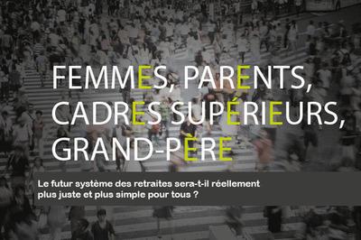 Contribution de l'IPS à la 2ème phase de concertation – Femmes, parents, cadres supérieurs, grand-père : le futur système des retraites sera-t-il réellement plus juste et plus simple pour tous ?
