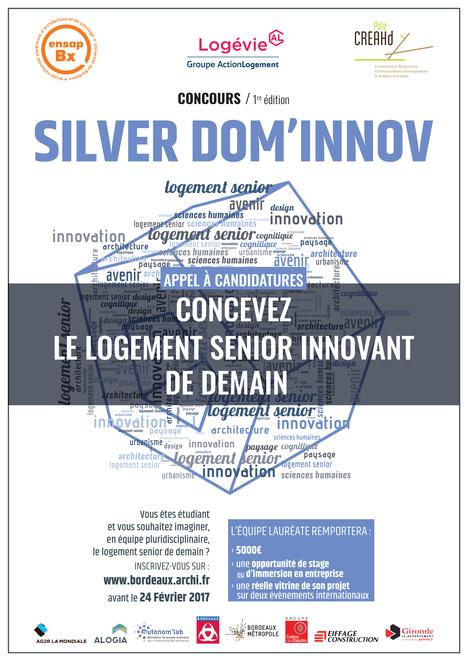 Silver Dom'innov - 1re édition : appel à candidatures | COMUE Aquitaine | Scoop.it